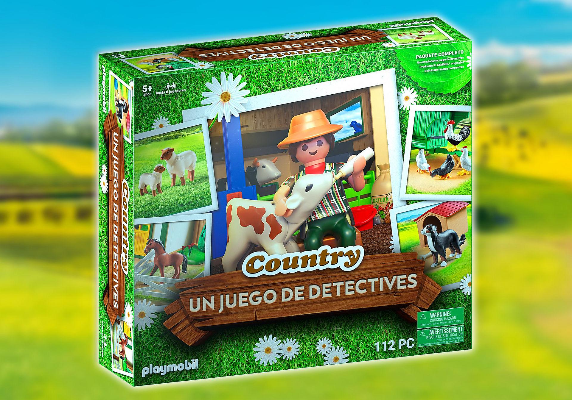 70851 PLAYMOBIL®Box: COUNTRY EL juego de detectives zoom image1