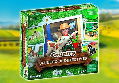70851 PLAYMOBIL®Box: COUNTRY EL juego de detectives