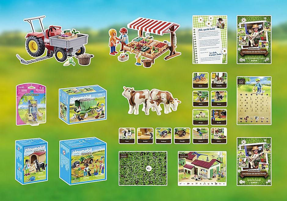 70851 PLAYMOBIL®Box: COUNTRY EL juego de detectives detail image 3