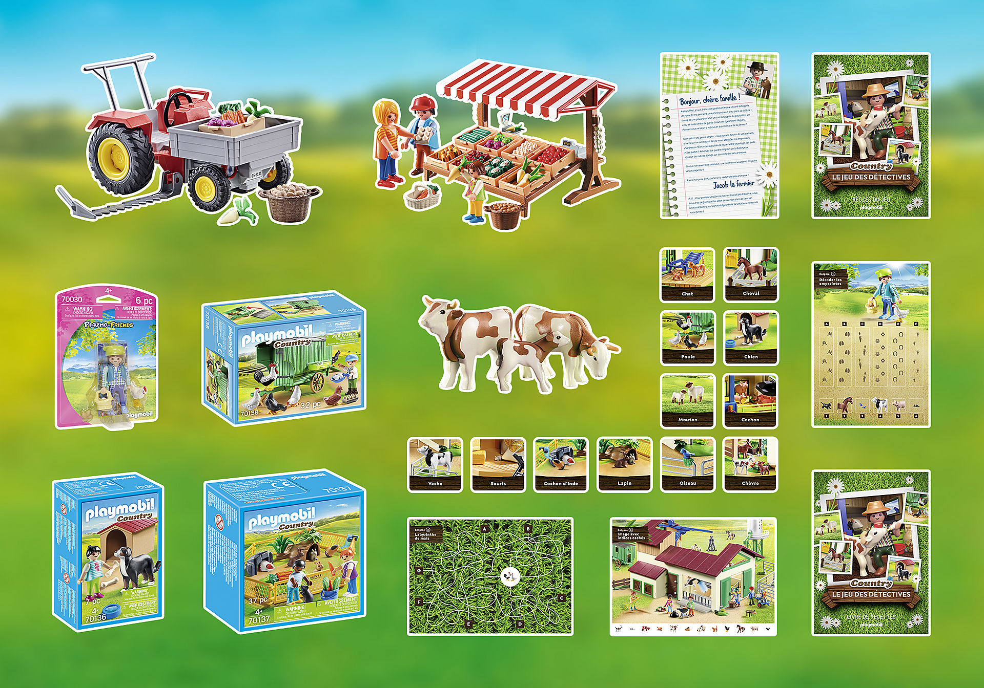 70852 Box PLAYMOBIL®: Le jeu de détective COUNTRY zoom image3