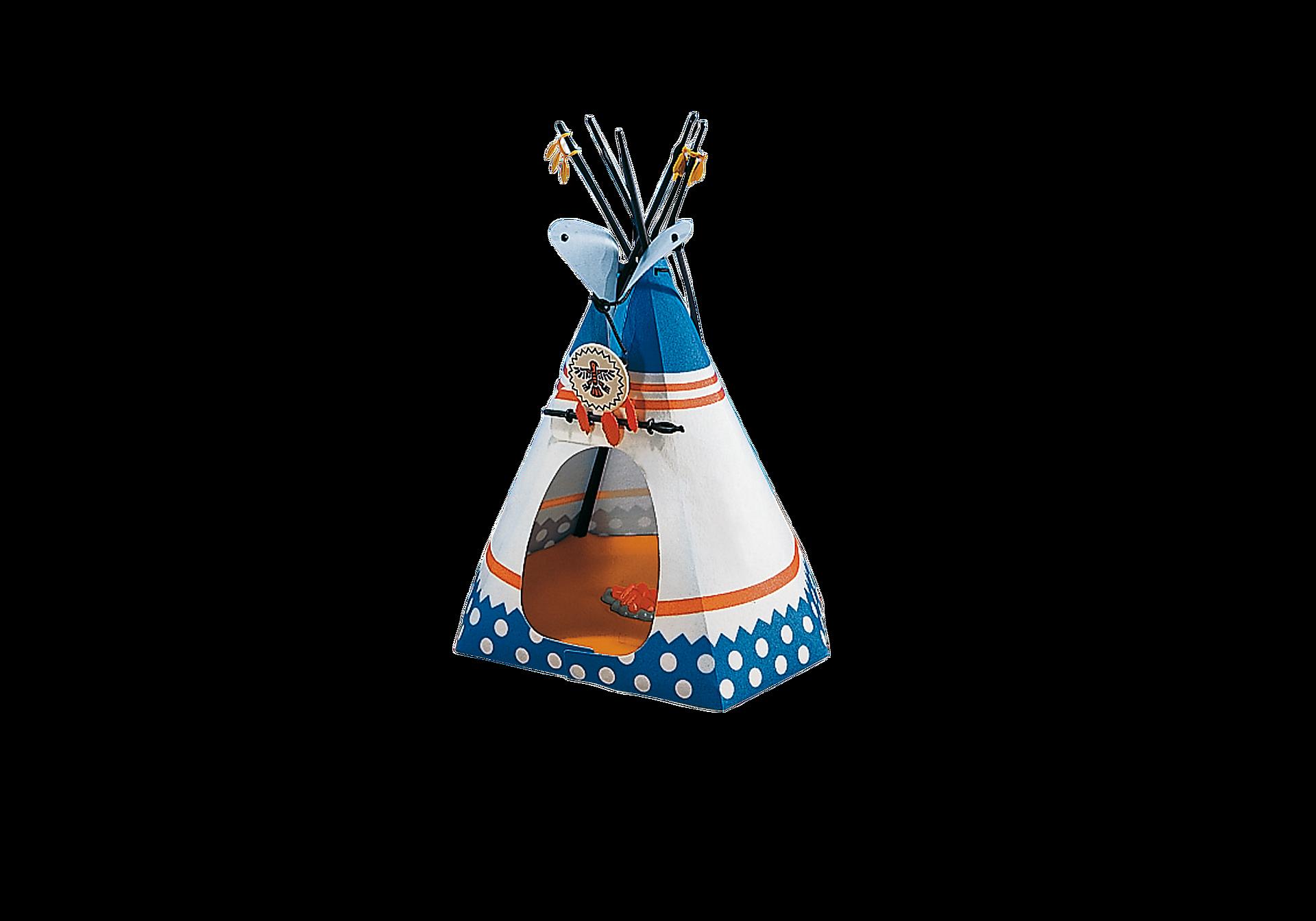 http://media.playmobil.com/i/playmobil/7172_product_detail/Indianerzelt mit Feuerstelle