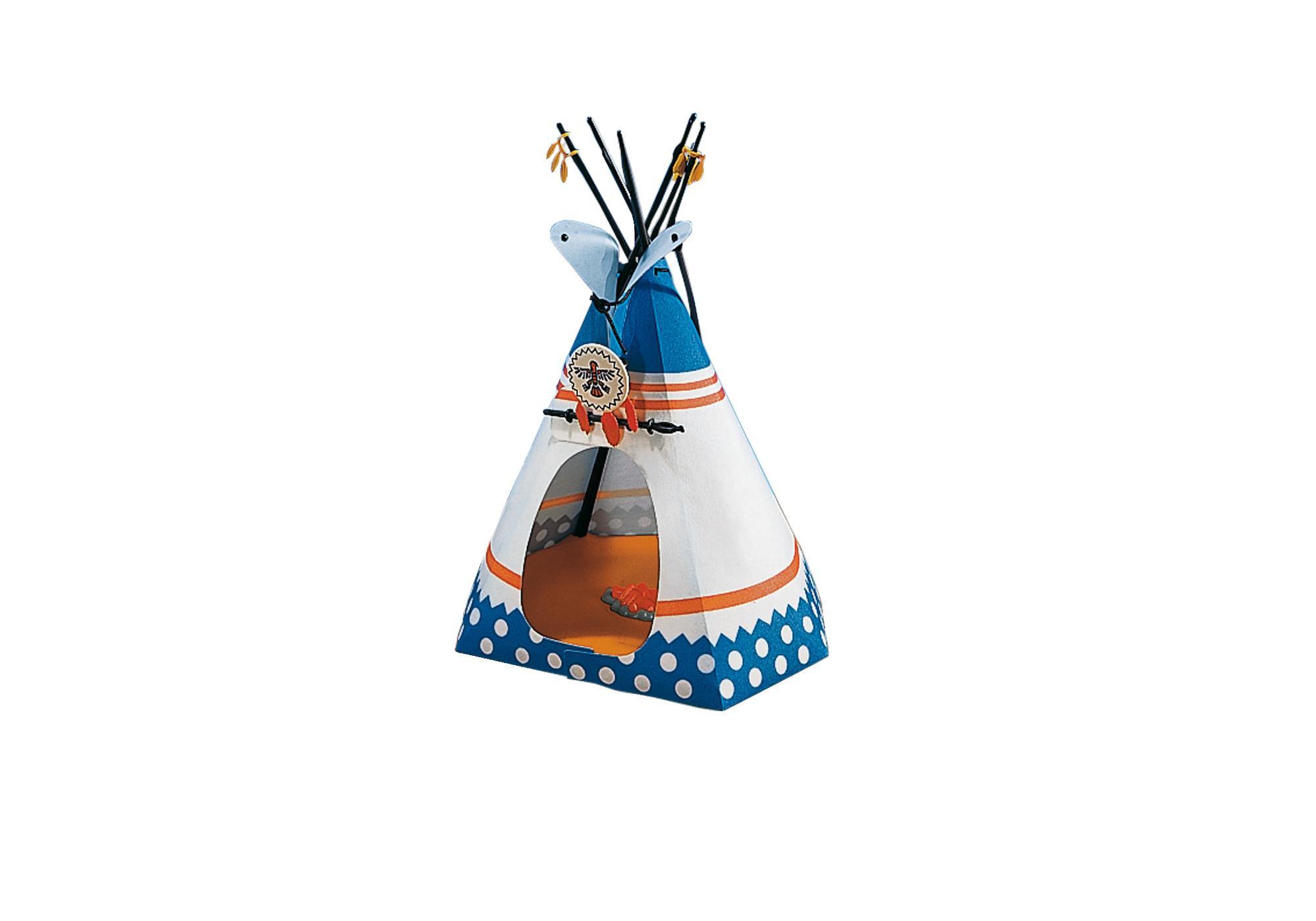 7172_product_detail/Indianerzelt mit Feuerstelle