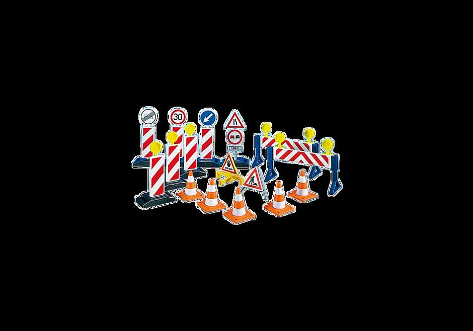 http://media.playmobil.com/i/playmobil/7280_product_detail/Σετ σήμανσης έργων οδοποιίας