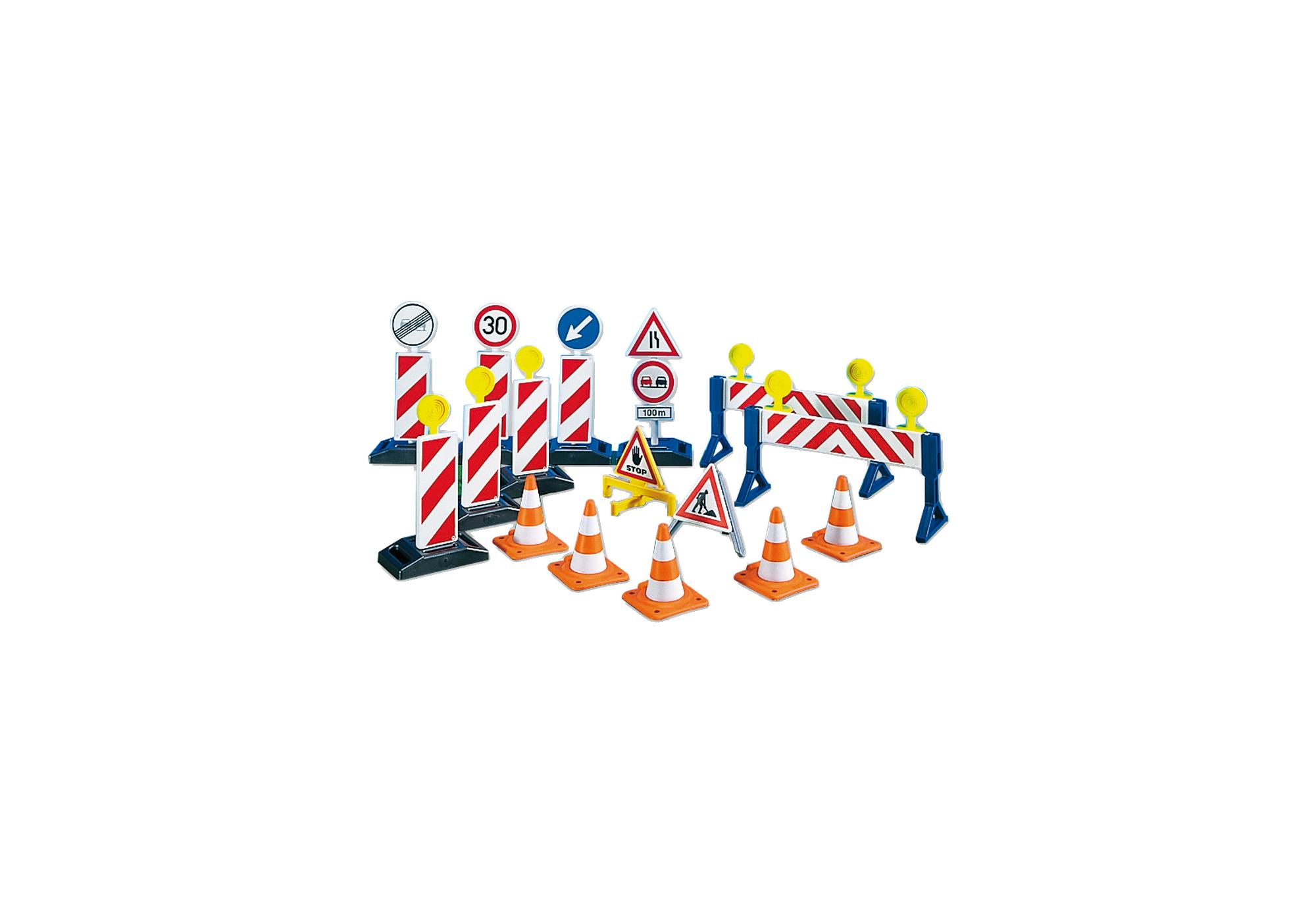 Baustellenschilder zum ausdrucken  Baustellenschilder - 7280 - PLAYMOBIL® Deutschland