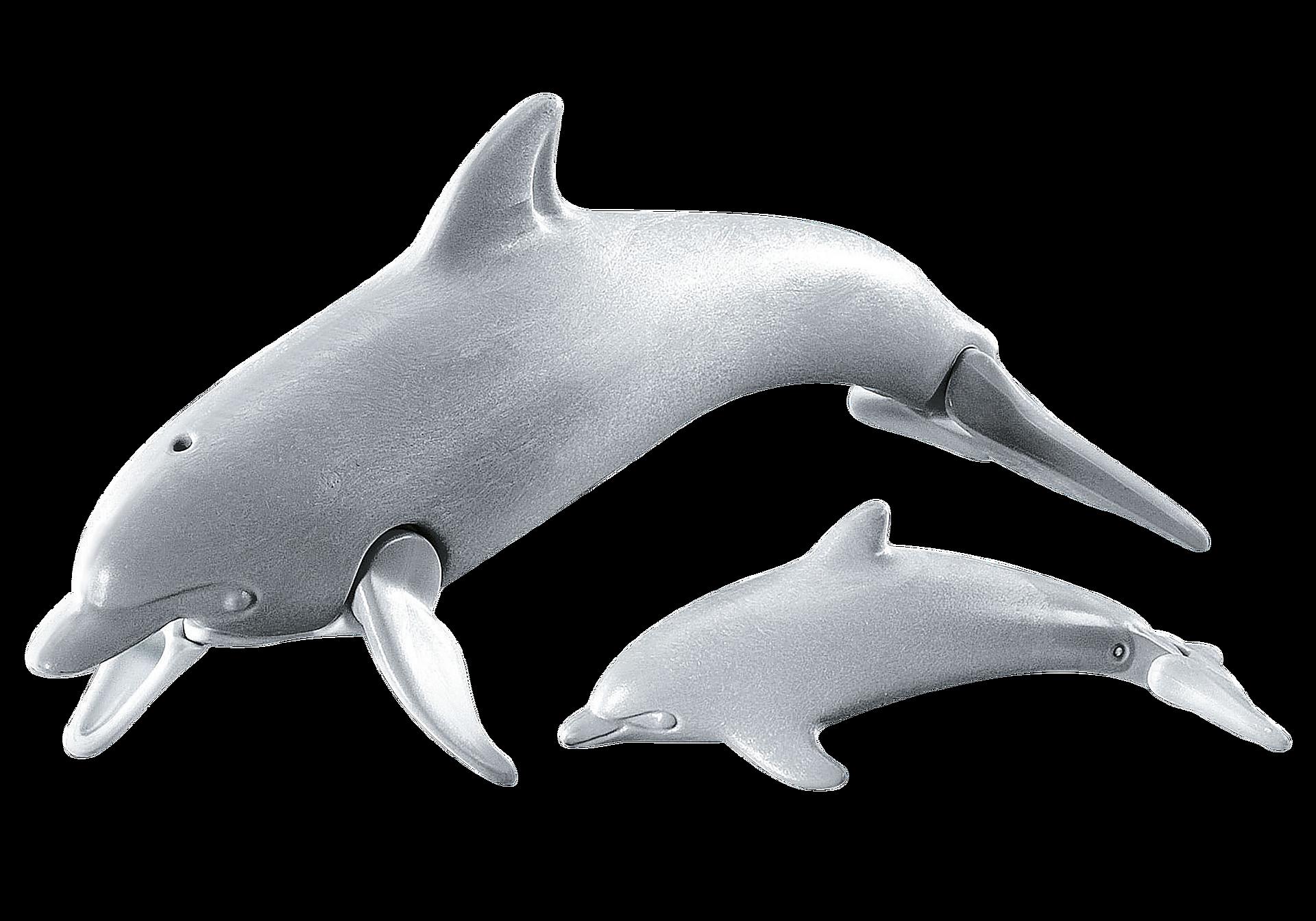 7363 Delfin med unge zoom image1