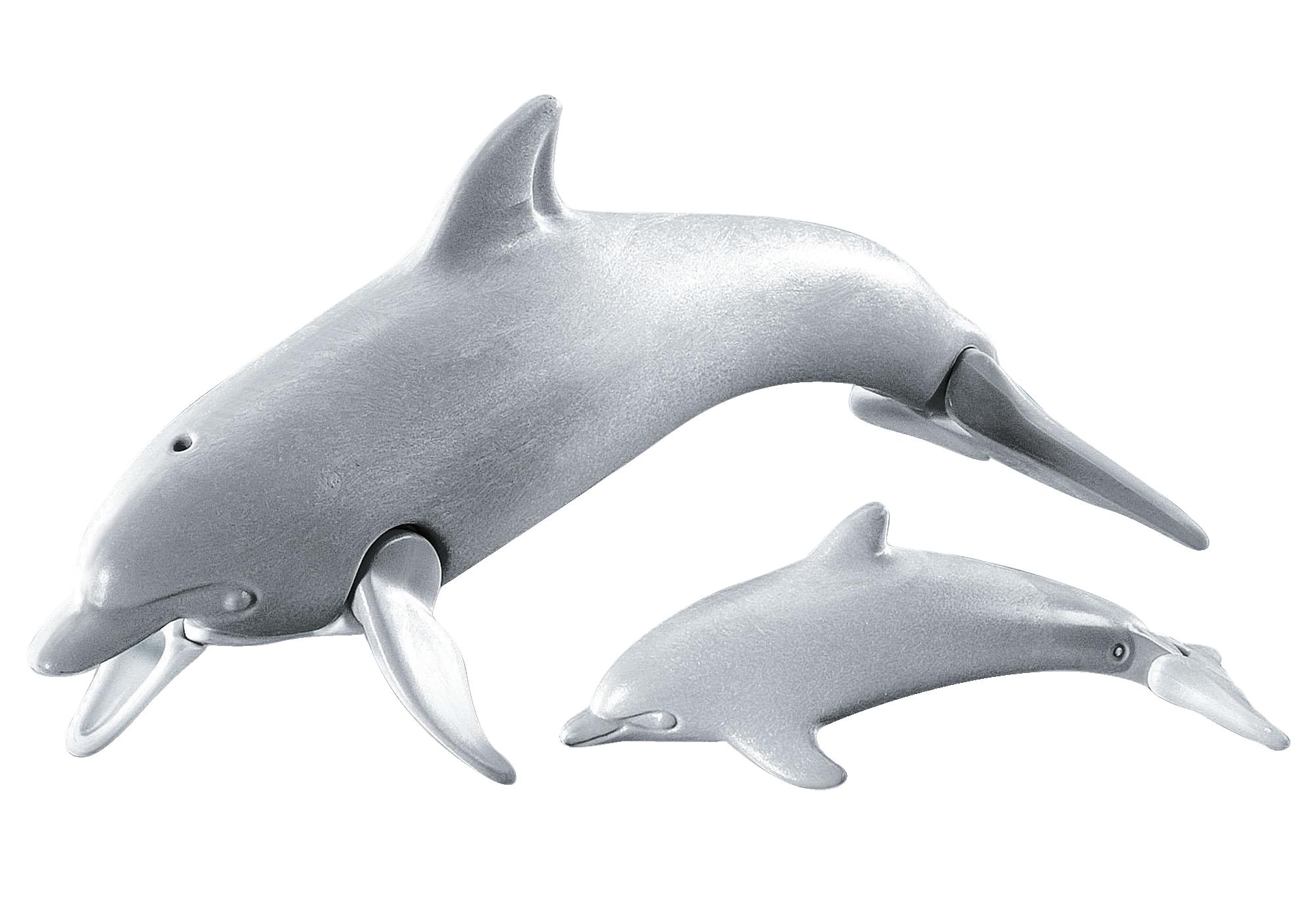 7363_product_detail/Delfin med unge