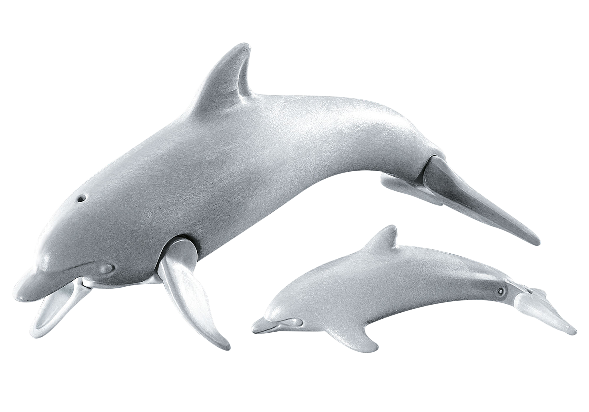 7363_product_detail/Dolphin with baby