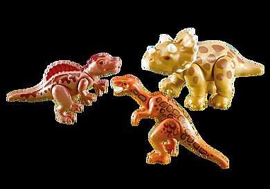 7368 3 cuccioli di dinosauro