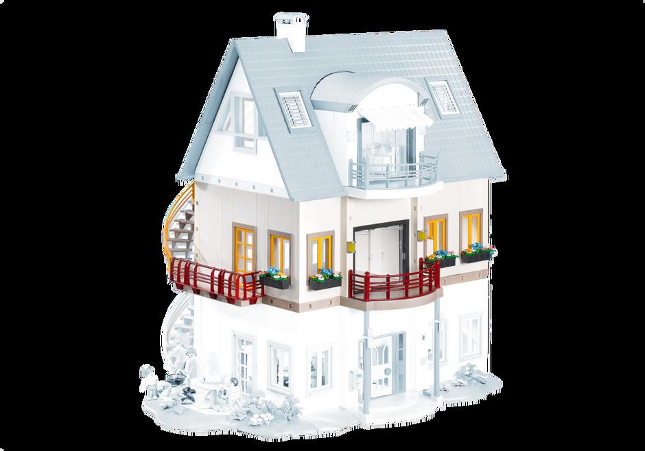 neues wohnhaus erweiterung a 7387 playmobil deutschland. Black Bedroom Furniture Sets. Home Design Ideas