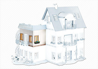 7389 Esquina piso adicional Casa Moderna 4279
