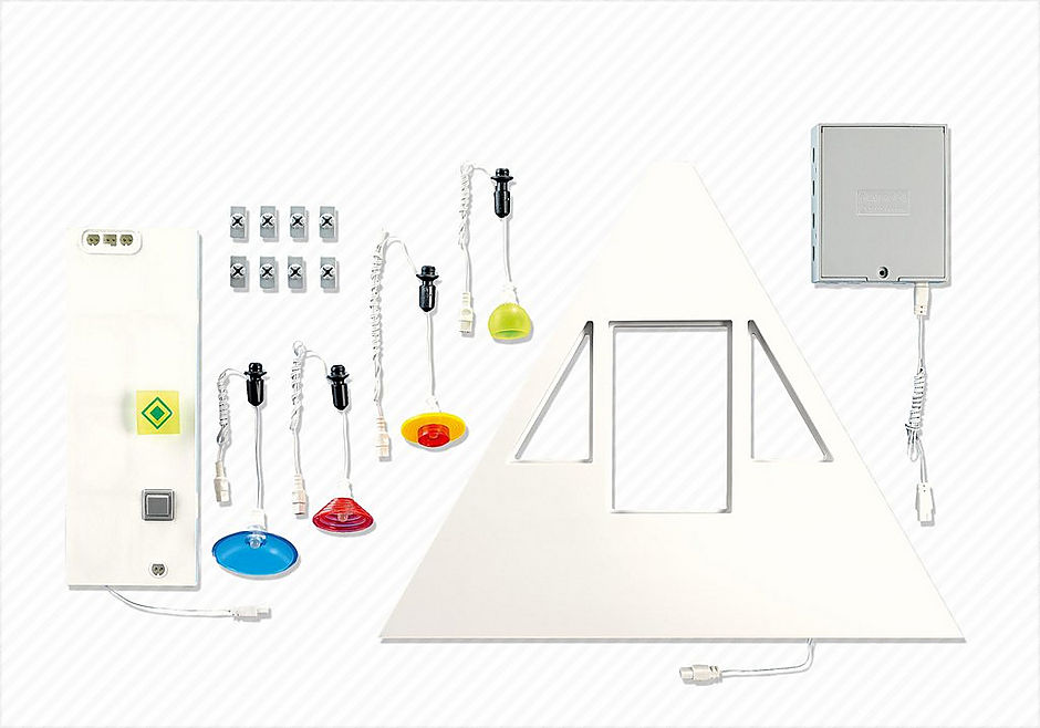 7390 Neues Wohnhaus, Beleuchtungs-Grundset detail image 1