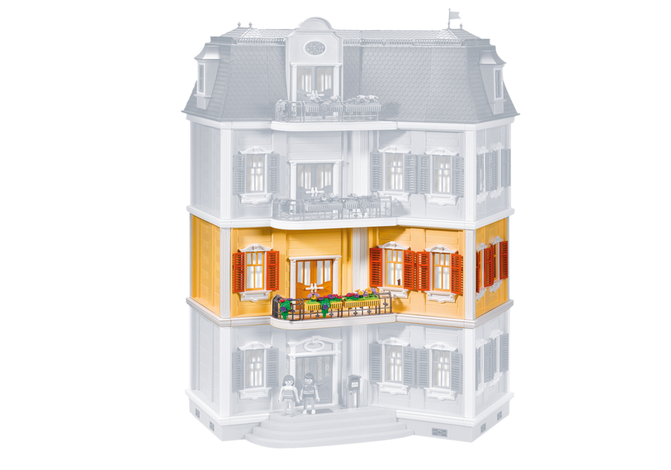 Floor extension for 5302 grande mansion 7483 playmobil - Toutes les maisons playmobil ...