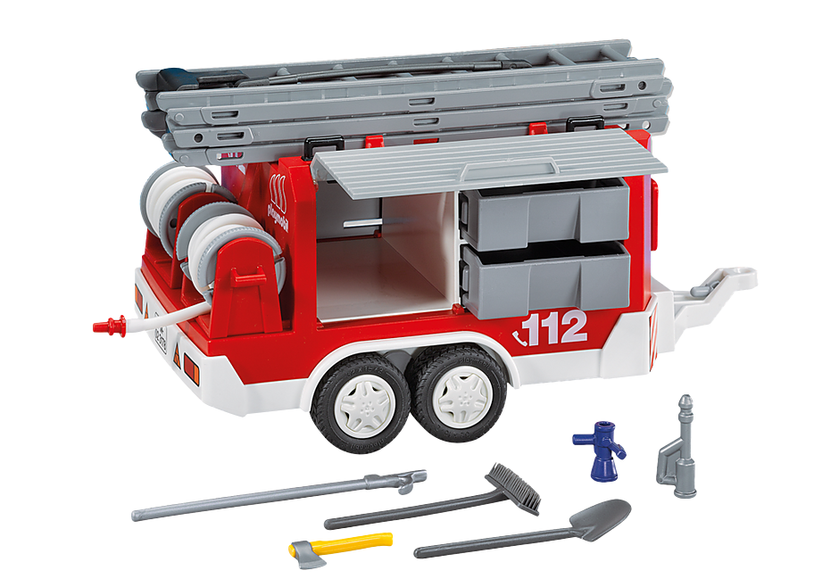 7485 Πυροσβεστικό ρυμουλκούμενο όχημα detail image 1