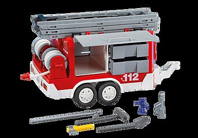 7485 Påhængsvogn til brandbil
