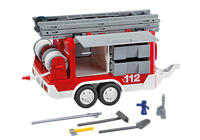 7485 Tűzoltó pótkocsi