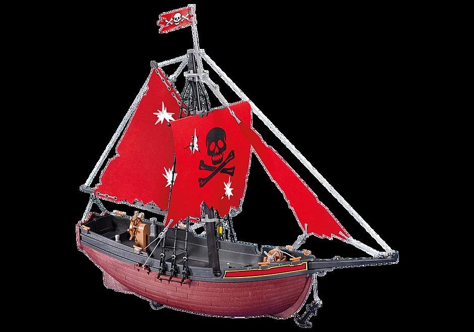 7518 Bateau corsaire rouge detail image 1