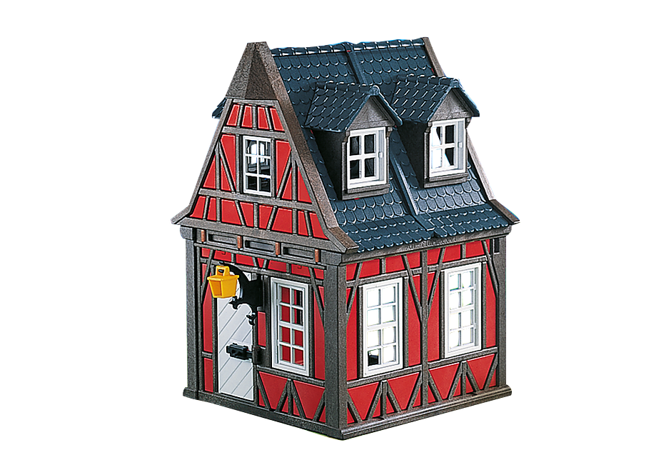 7785 Casetta rossa medievale detail image 1