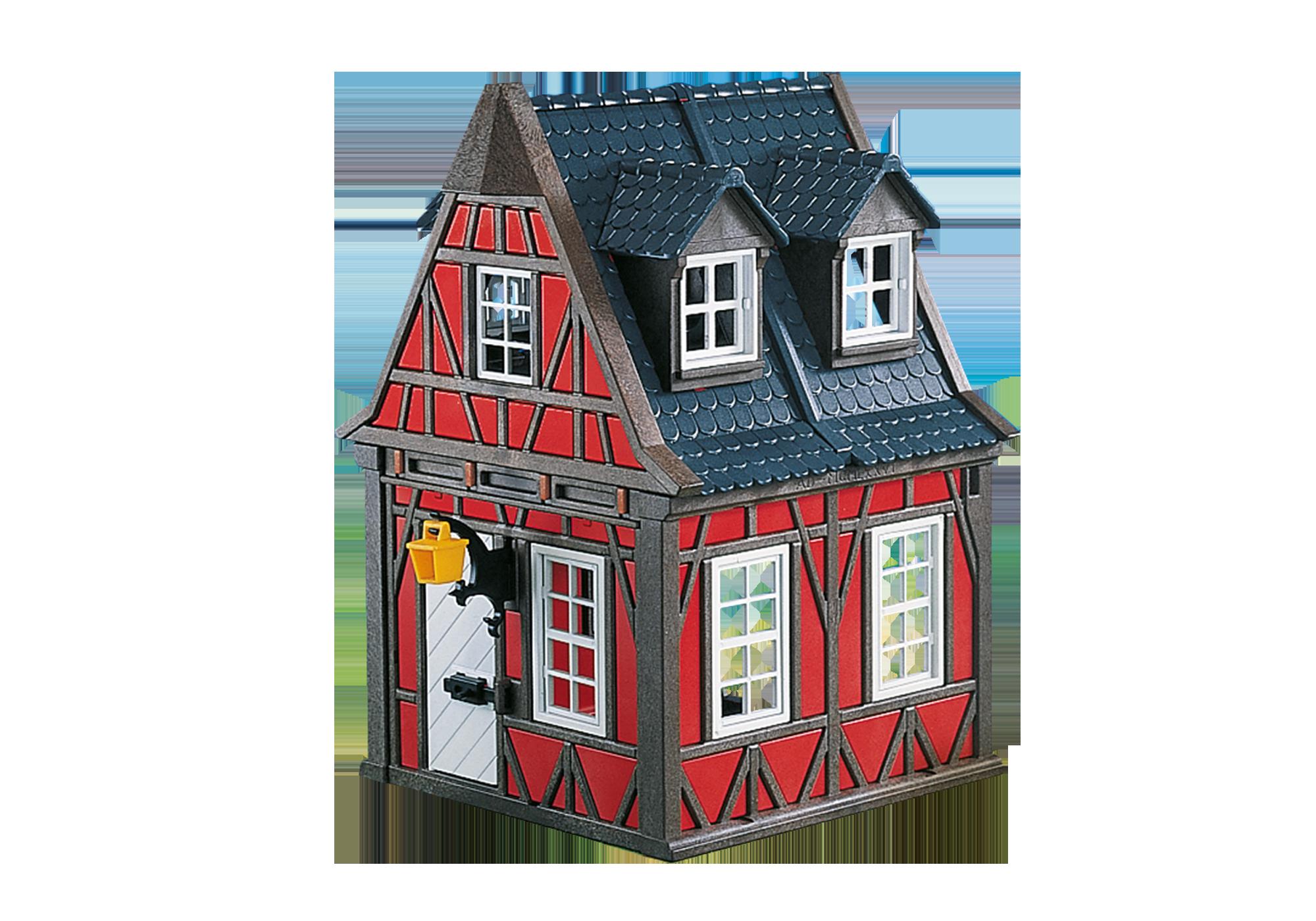 7785_product_detail/Casetta rossa medievale