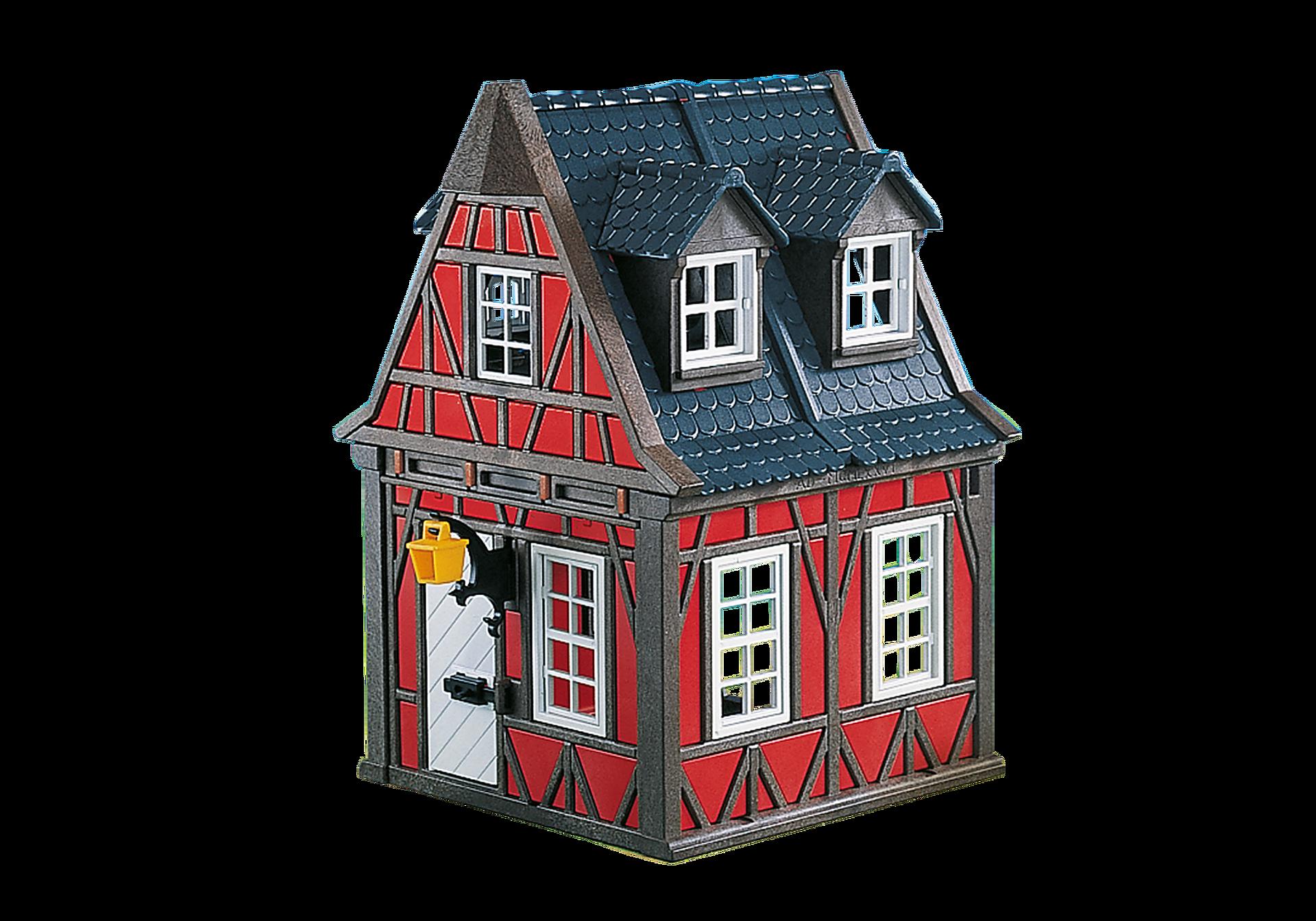 7785 Maison rouge à colombages zoom image1