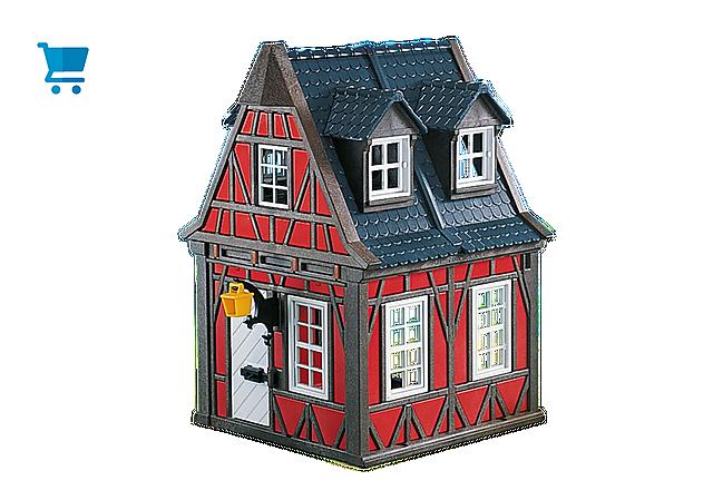 7785_product_detail/Rotes Fachwerkhaus