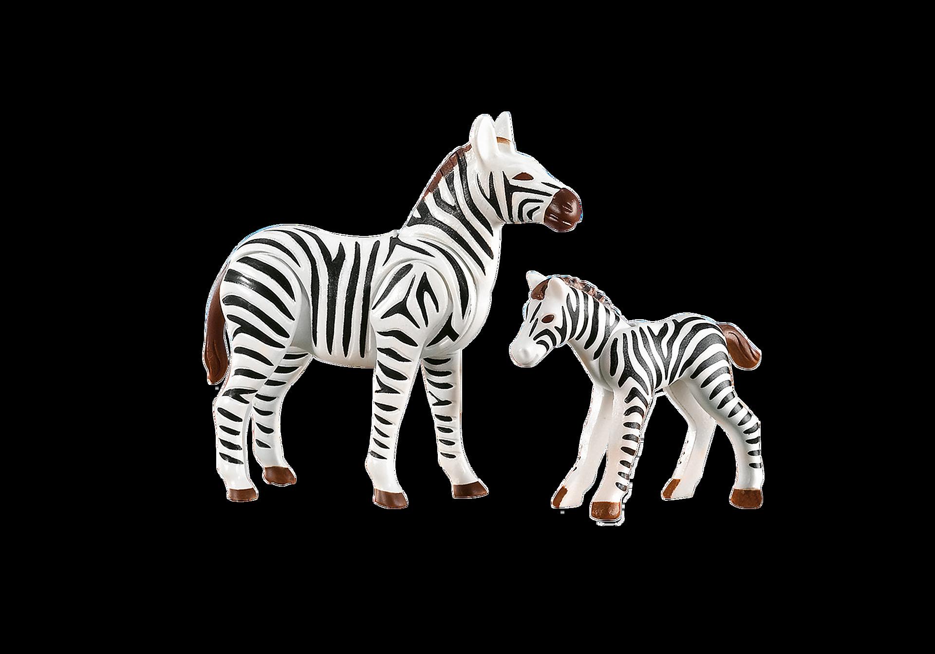 7898 Zebra con puledro zoom image1