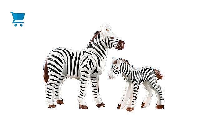 7898_product_detail/Zebra mit Fohlen