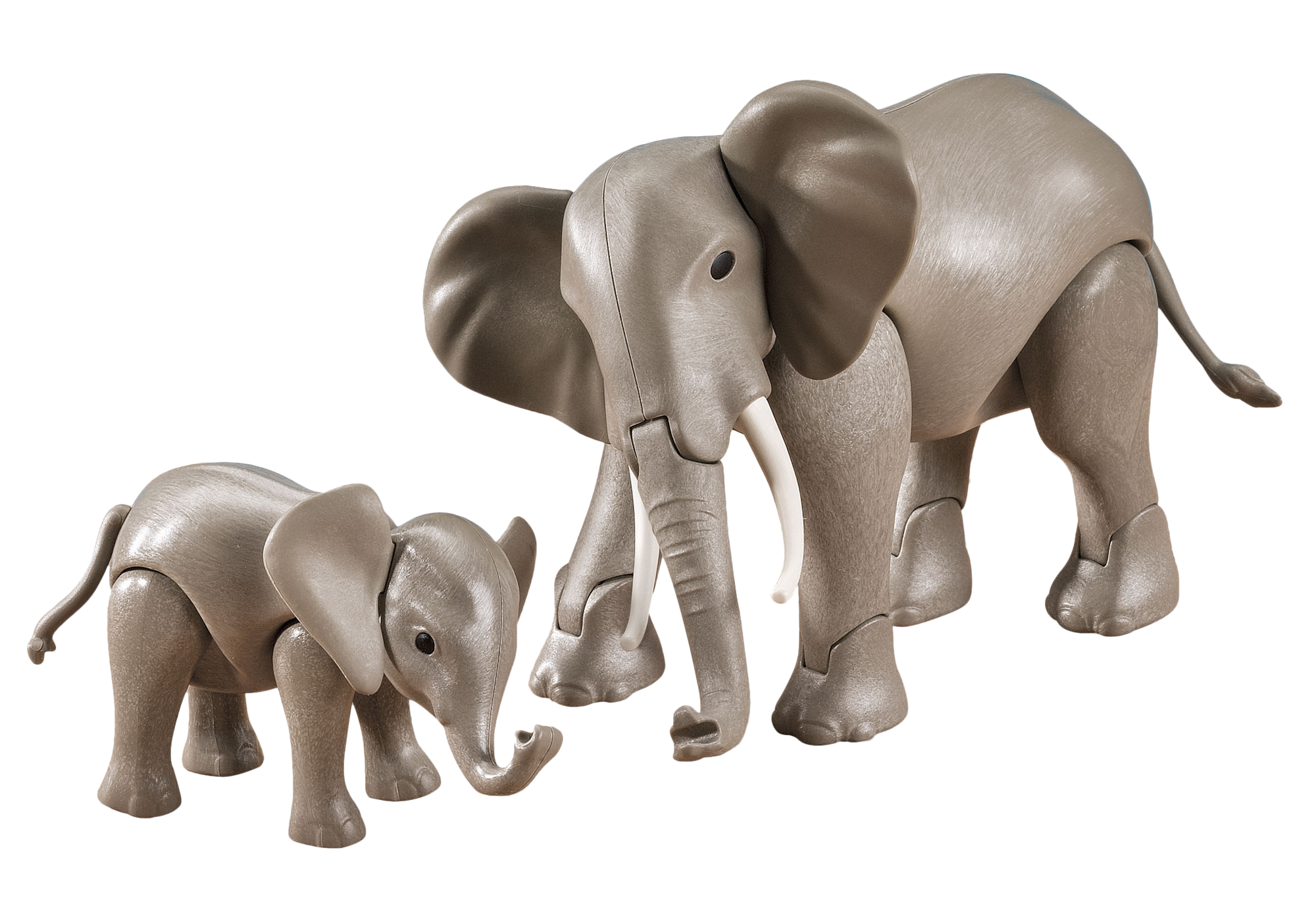 http://media.playmobil.com/i/playmobil/7995_product_detail/1 Large and 1 Small Elephant