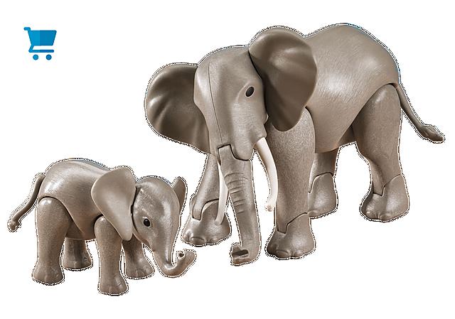 7995_product_detail/Elefante con Bebé