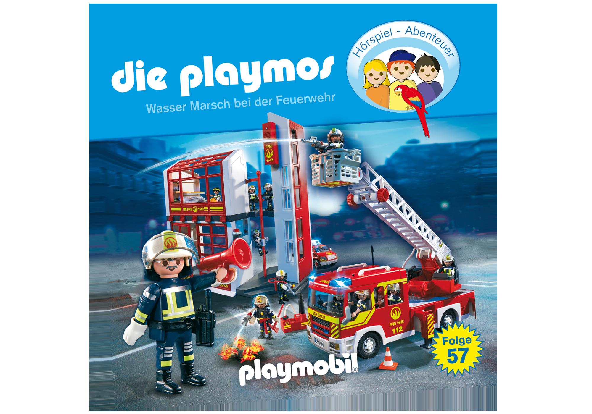http://media.playmobil.com/i/playmobil/80009_product_detail/Wasser Marsch bei der Feuerwehr - Folge 57