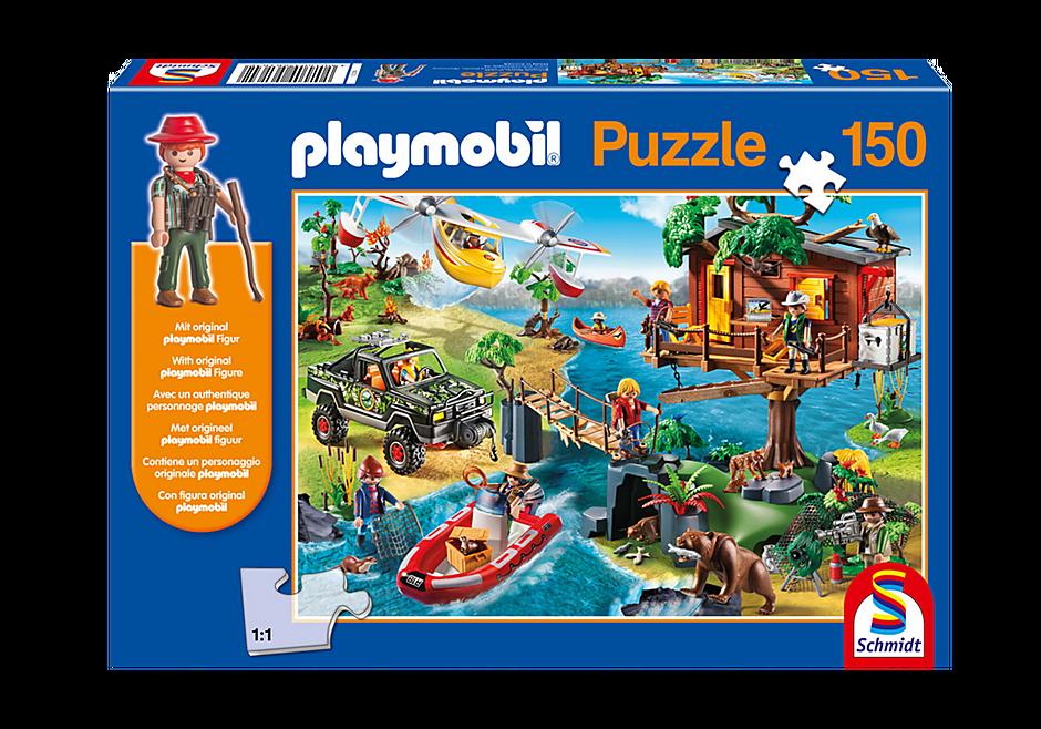 80010 Puzzle - Abenteuer-Baumhaus detail image 1