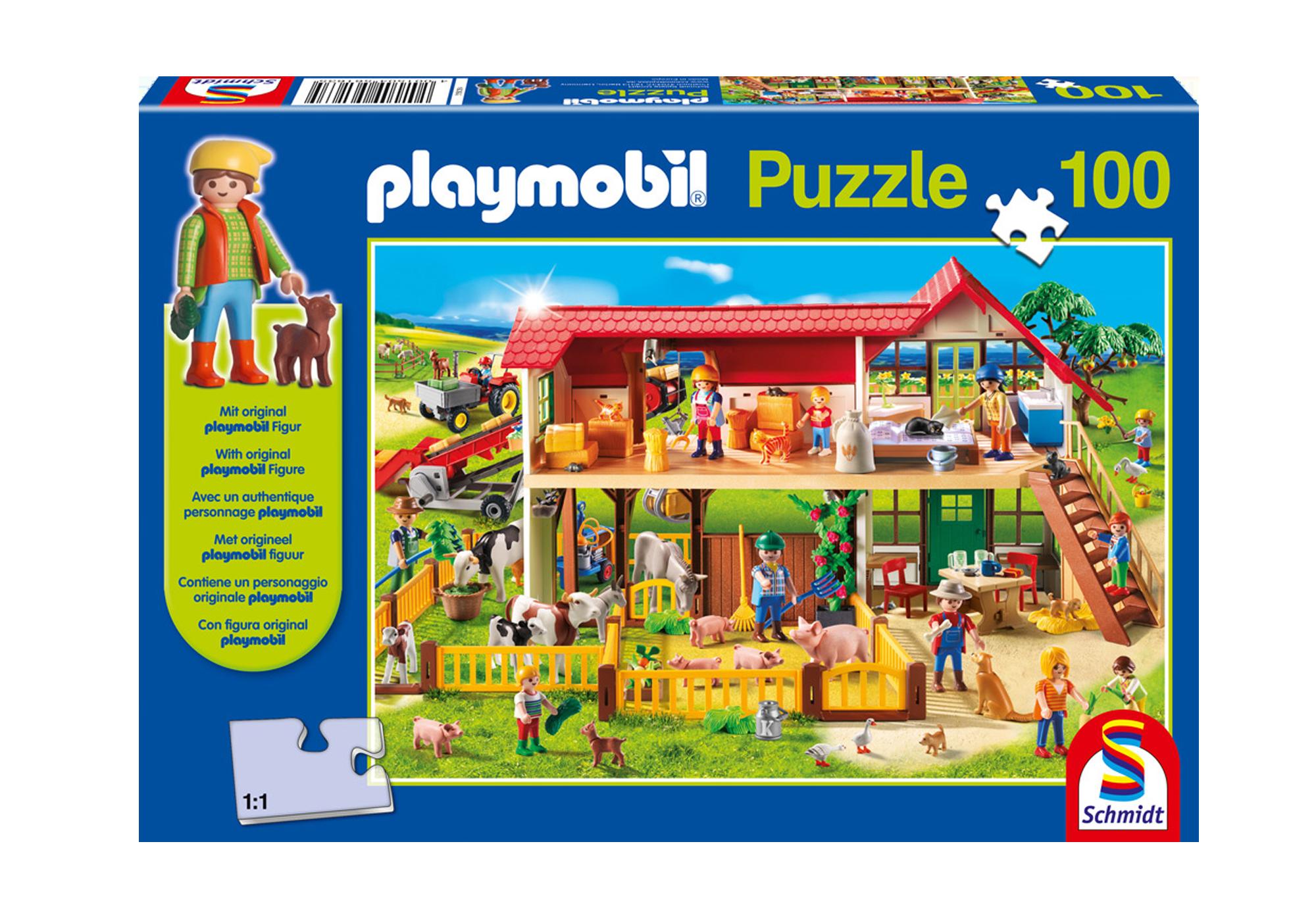 80011_product_detail/Puzzle - Bauernhof