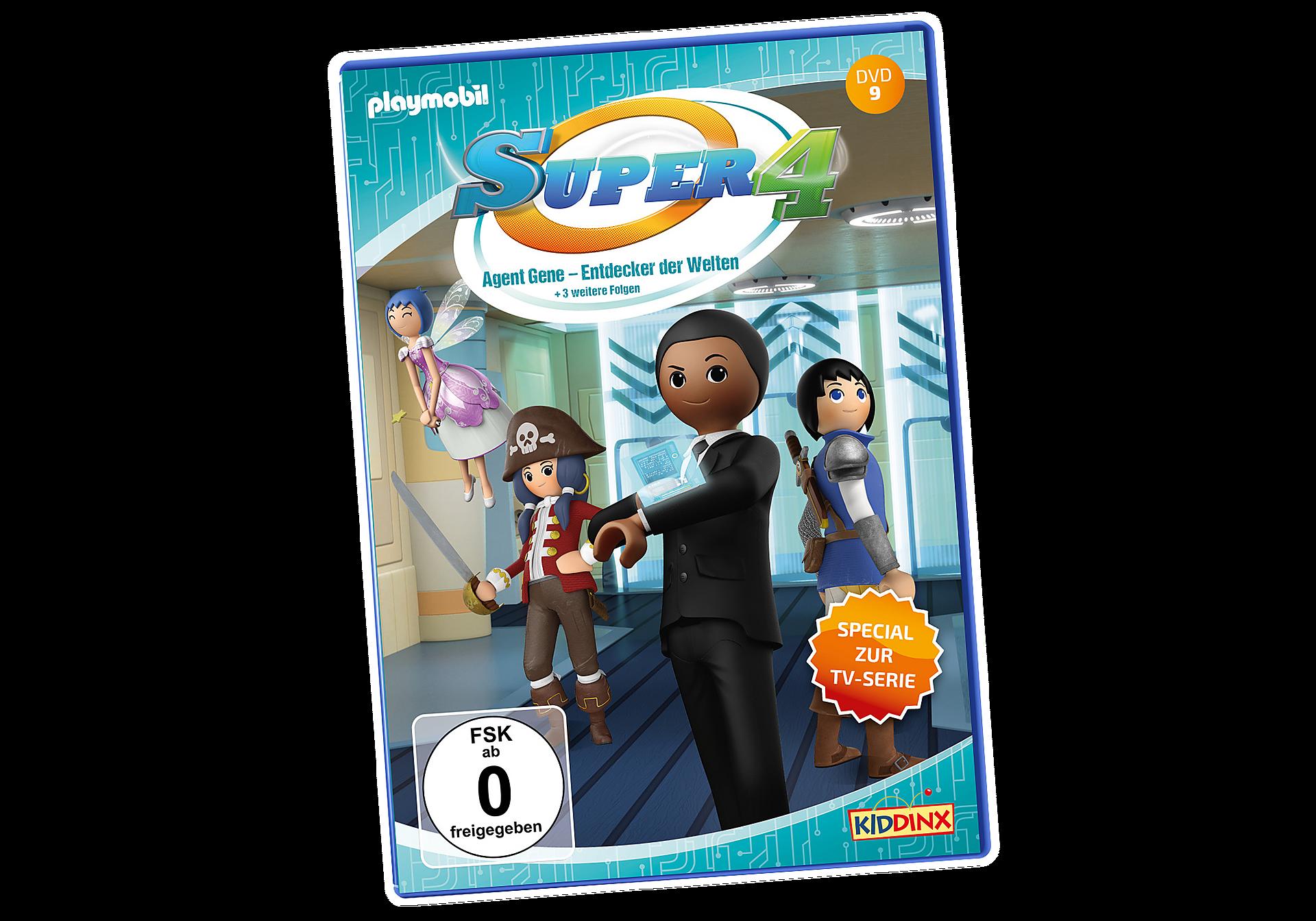80021 DVD Super4: Agent Gene, Entdecker der Welten  zoom image1