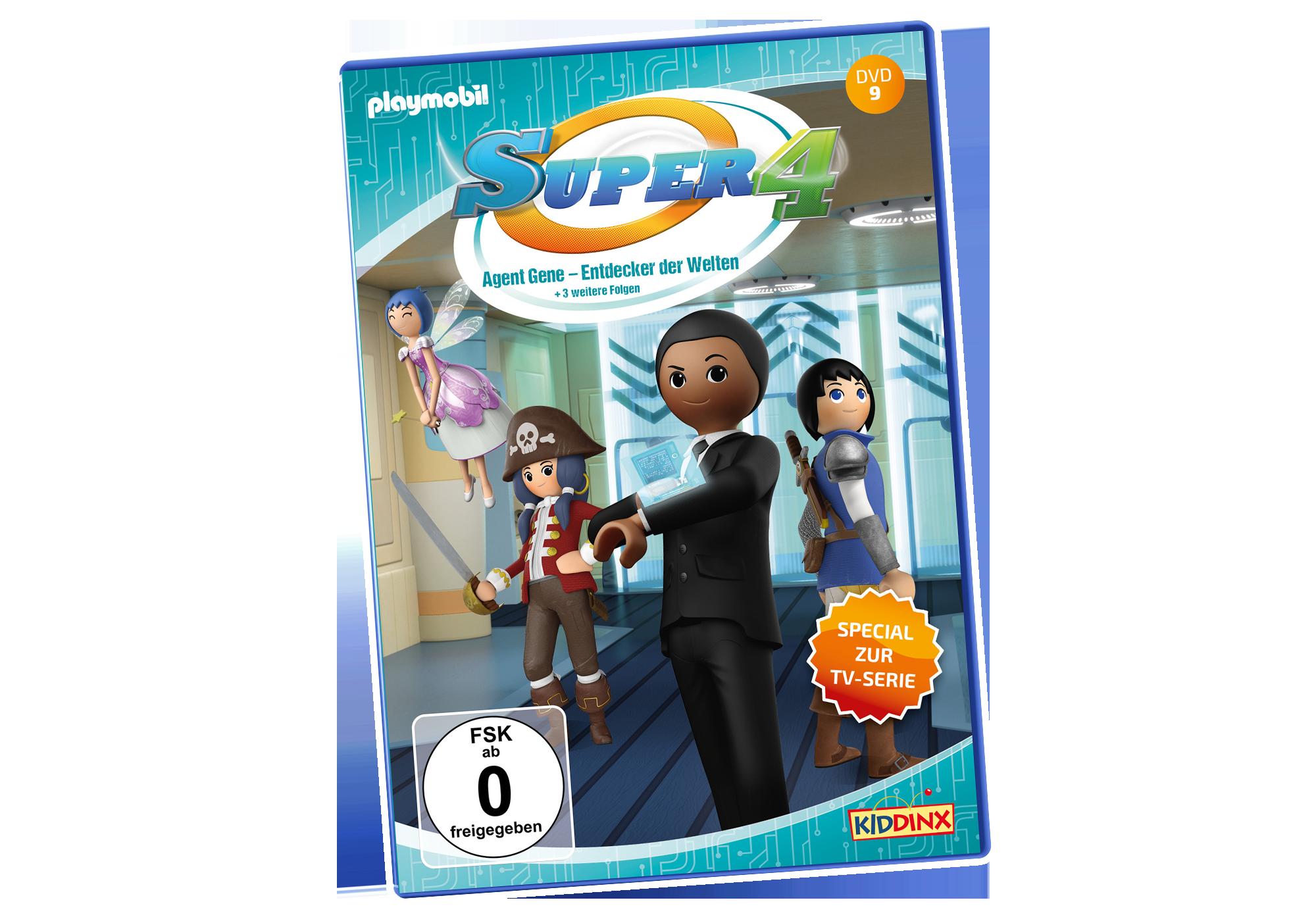 http://media.playmobil.com/i/playmobil/80021_product_detail/DVD Super4: Agent Gene, Entdecker der Welten
