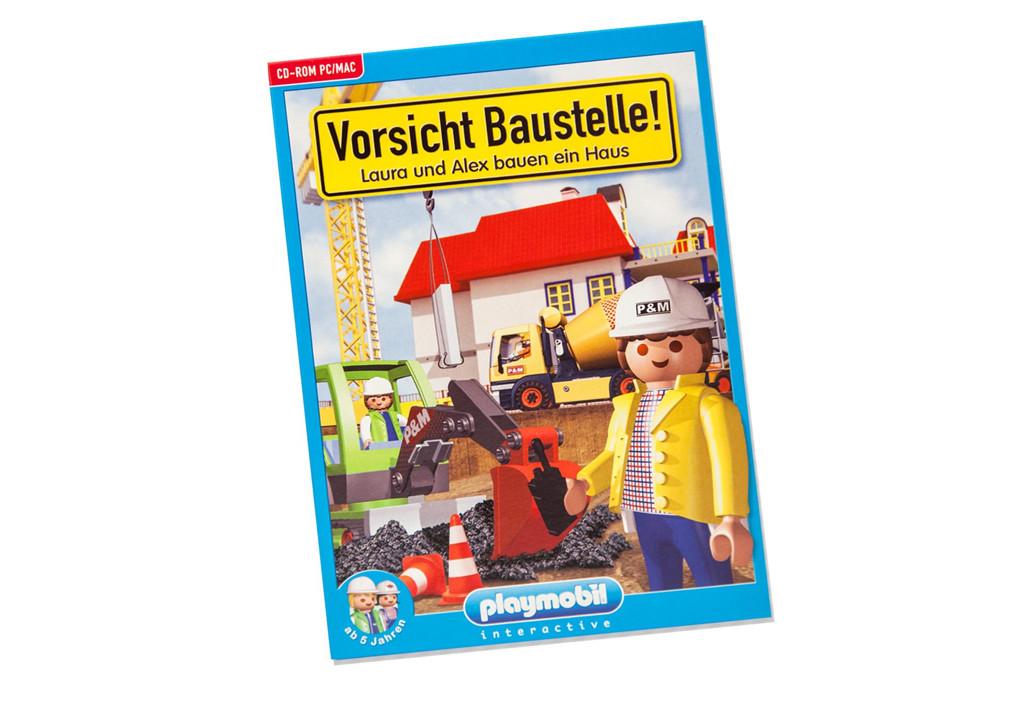 Haus bauen baustelle  Vorsicht Baustelle! – Laura und Alex bauen ein Haus - 80099 ...