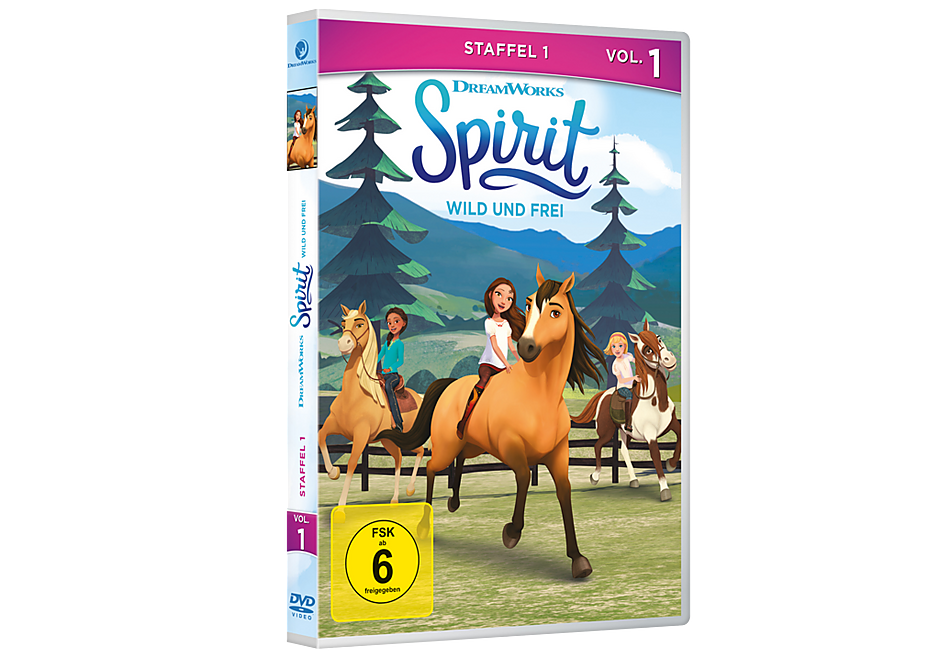 http://media.playmobil.com/i/playmobil/80138_product_detail/DVD: Spirit - Wild und frei, Staffel 1, Vol. 1