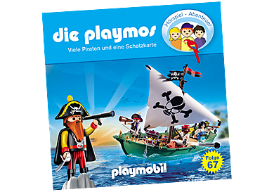 80140 Viele Piraten und eine Schatzkarte - Folge 67