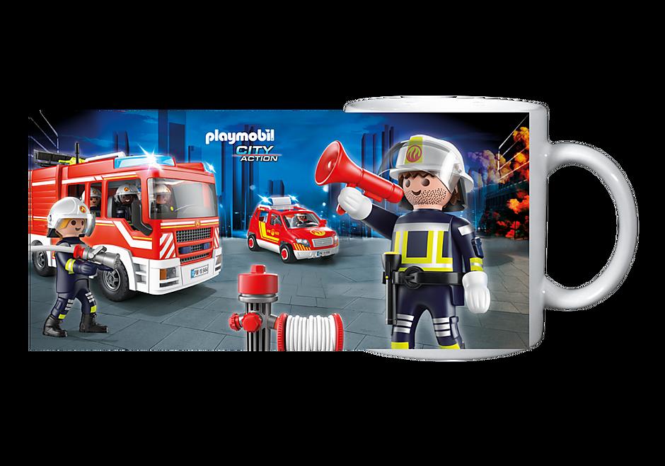 80152 Becher: Feuerwehr detail image 1