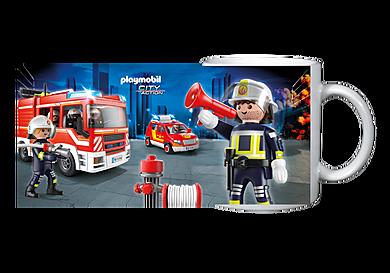 80152 Becher: Feuerwehr