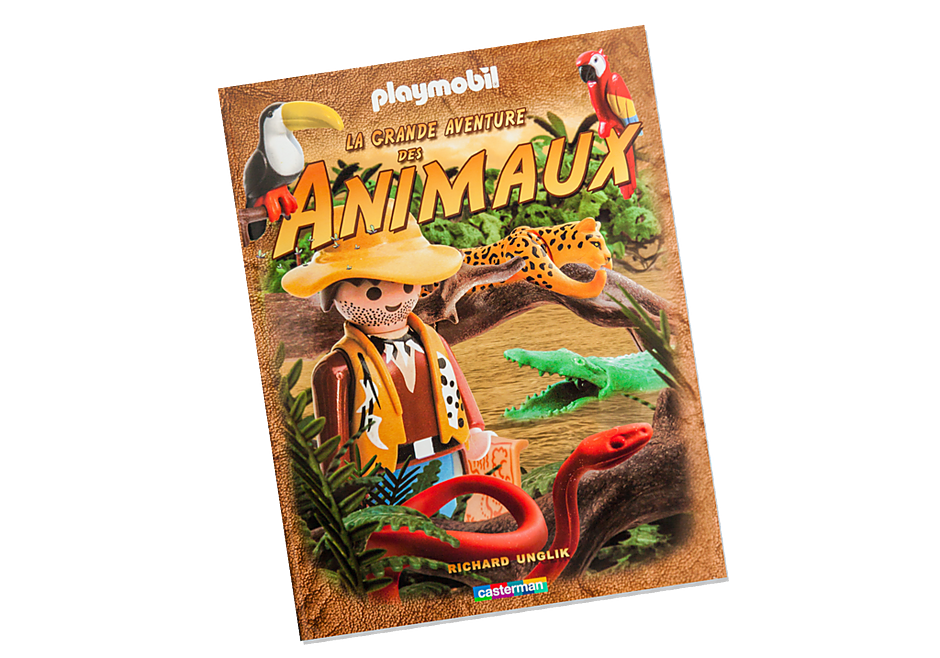 80196 La grande Aventure des animaux avec PLAYMOBIL detail image 1