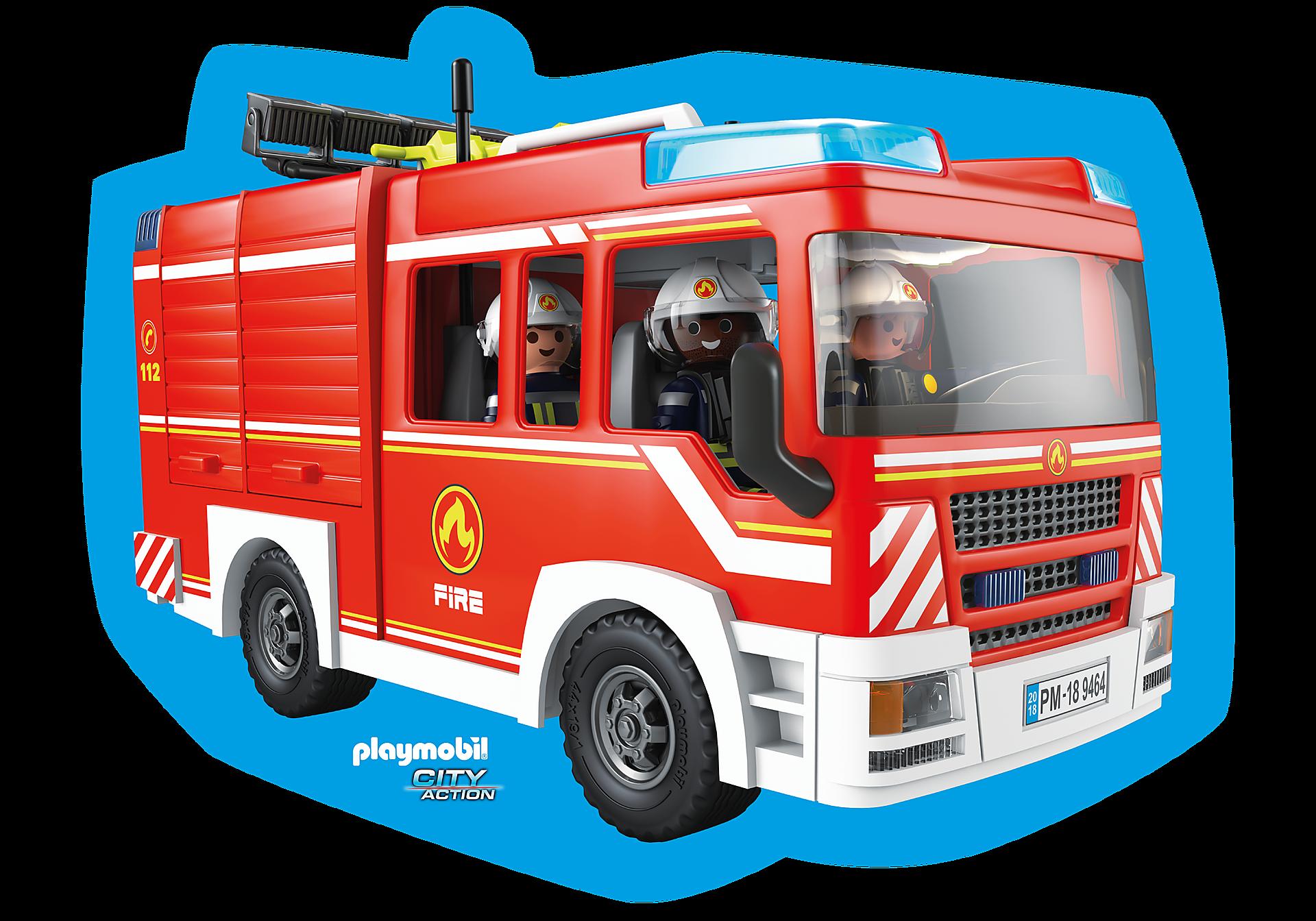 80215 Playmobil Kissen Feuerwehr zoom image1