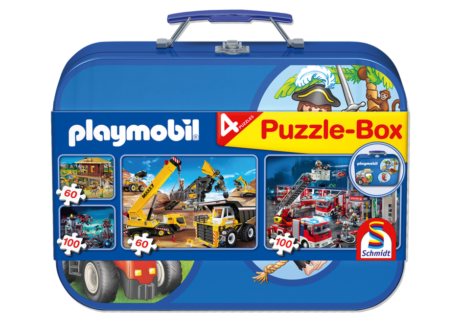 Puzzle Box With 4 Puzzles 80247 Playmobil United Kingdom