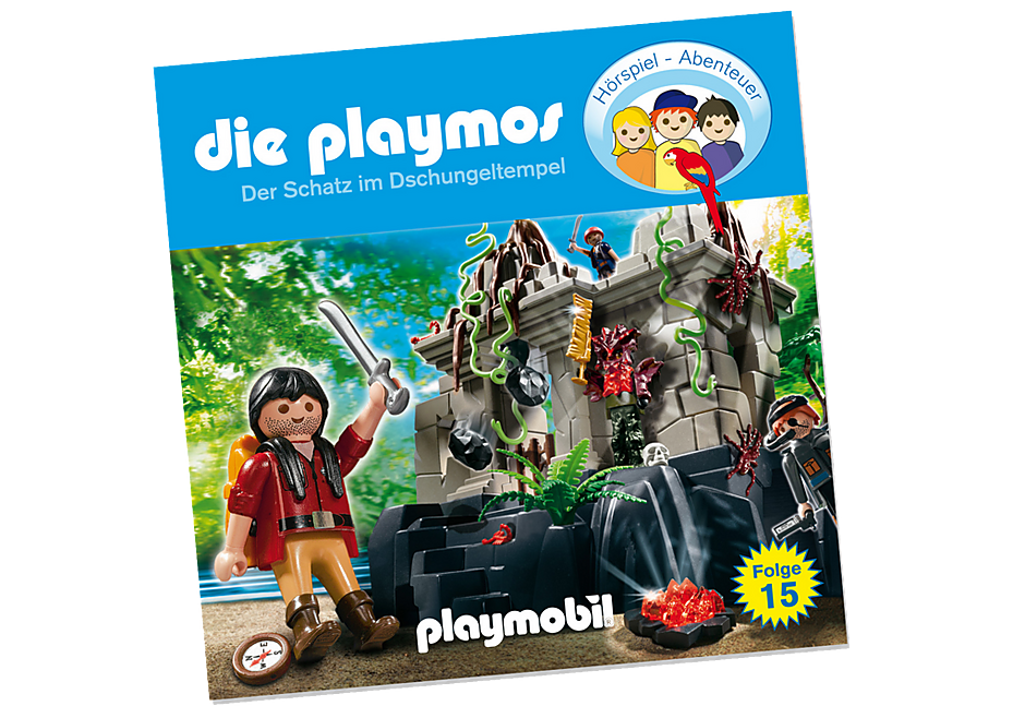 80260 Der Schatz im Dschungeltempel (15) - CD detail image 1
