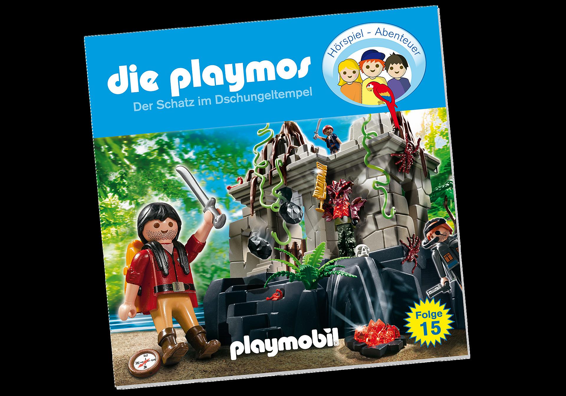 80260 Der Schatz im Dschungeltempel (15) - CD zoom image1