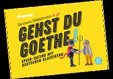 Gehst du Goethe! Speed-Dating mit deutschen Klassikern