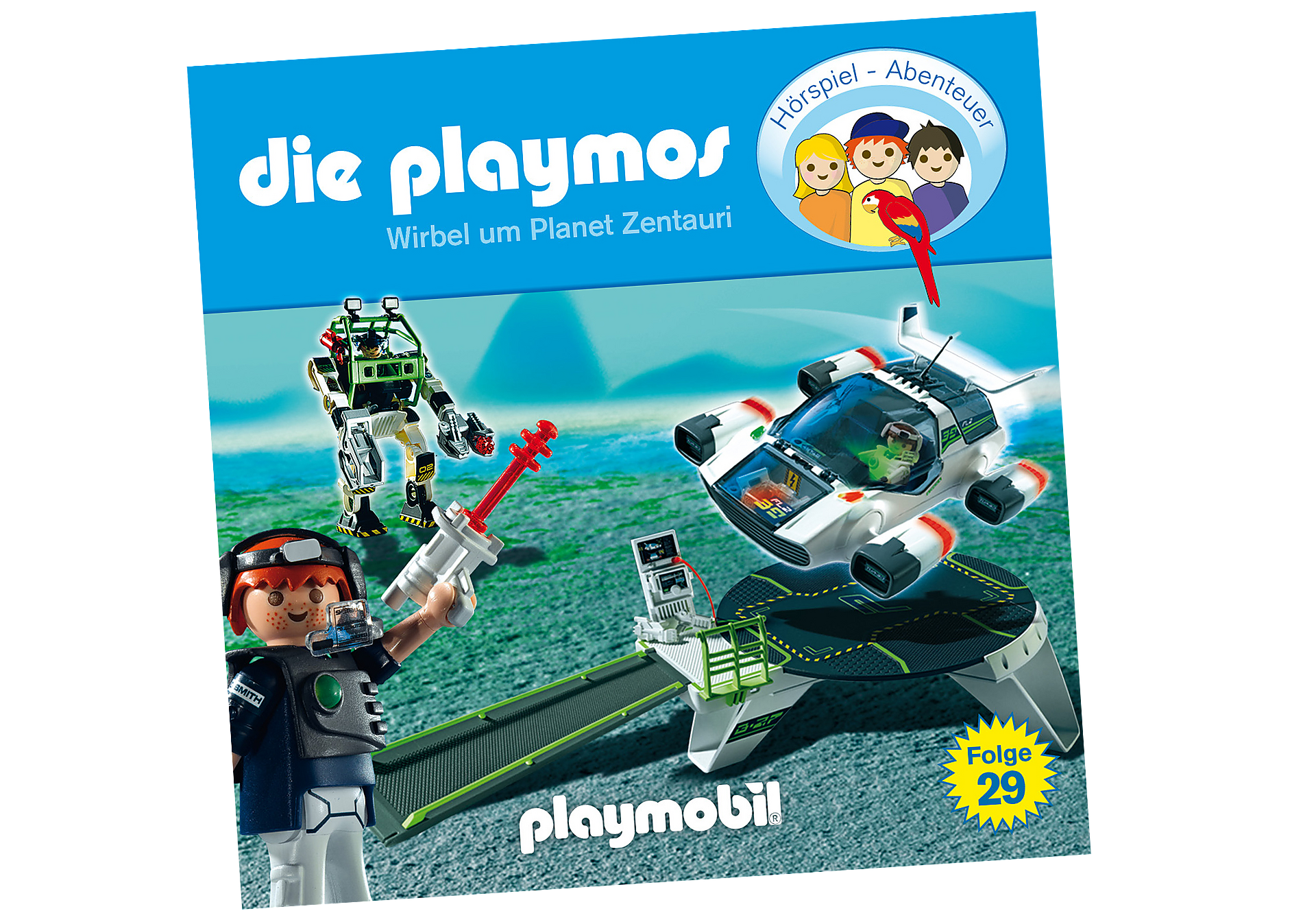 http://media.playmobil.com/i/playmobil/80345_product_detail/Wirbel um Planet Zentauri (29) - CD