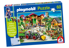 Playmobil Farm Puzzle 80352