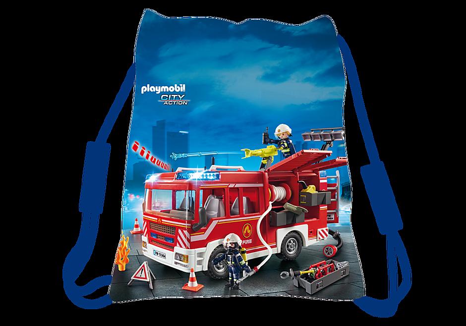 80409 Playmobil Sporttasche Feuerwehr detail image 1