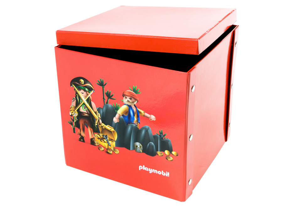 bo te de jeu et rangement pirates 80460 playmobil france. Black Bedroom Furniture Sets. Home Design Ideas