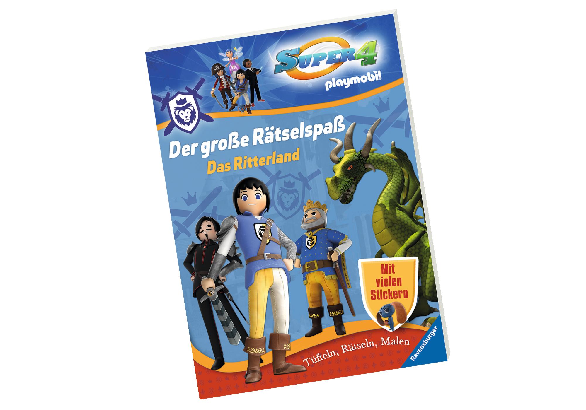 http://media.playmobil.com/i/playmobil/80472_product_detail/Super 4: Der große Rätselspaß - Das Ritterland