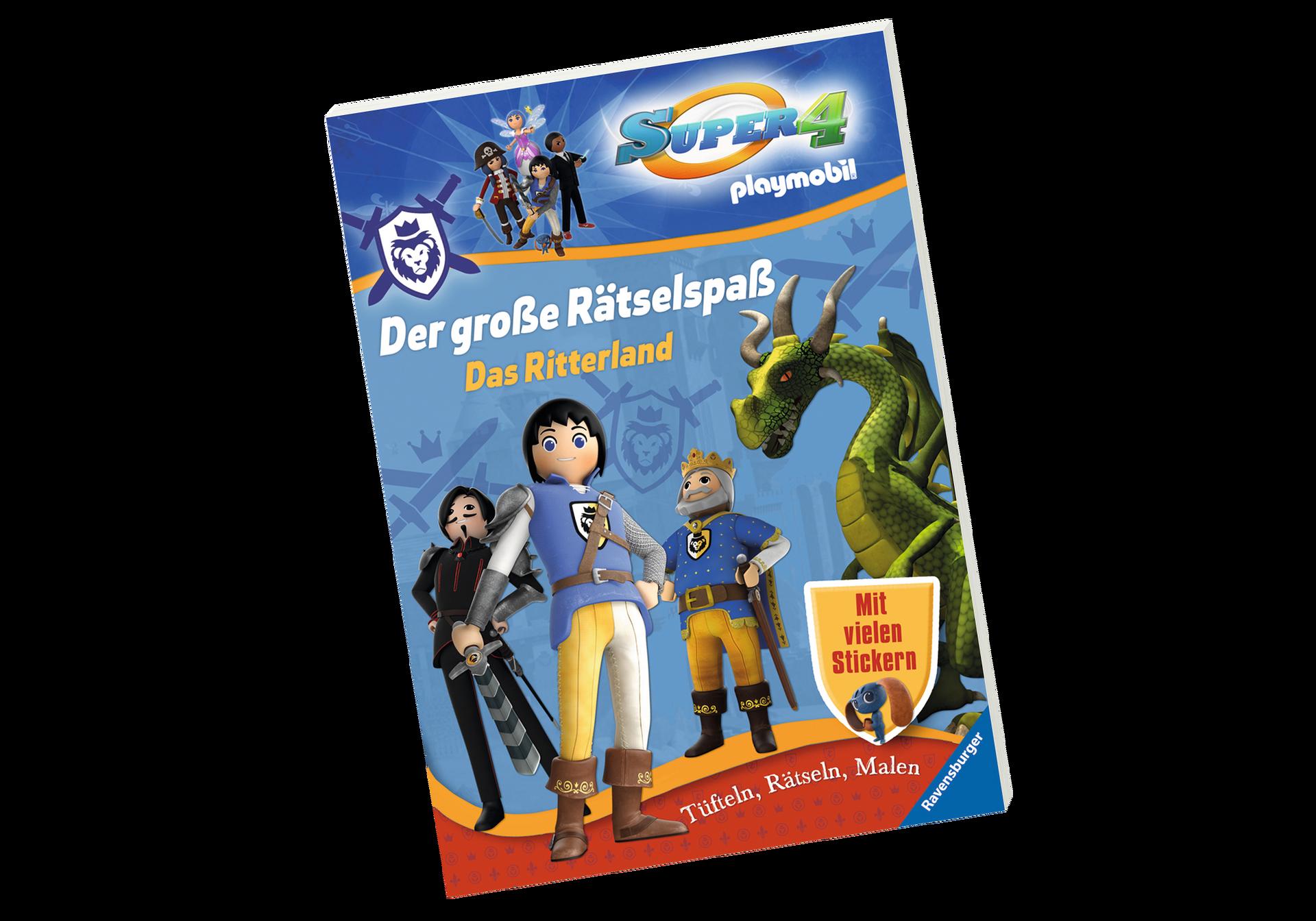 Playmobil Drachenland Ausmalbilder : Super 4 Der Gro E R Tselspa Das Ritterland 80472 Playmobil